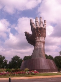Creepy hands in Tulsa